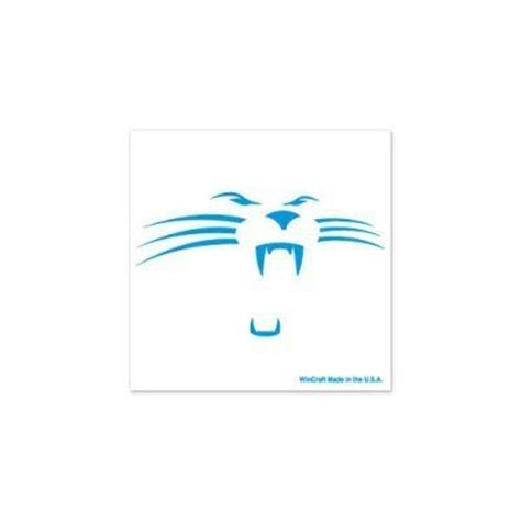 carolina panthers official colors carolina panthers official logo 4 pack by nfl 4