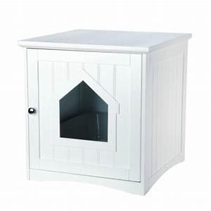 Meuble De Maison : meuble de toilette maison de toilette niche pour chat trixie wanimo ~ Teatrodelosmanantiales.com Idées de Décoration