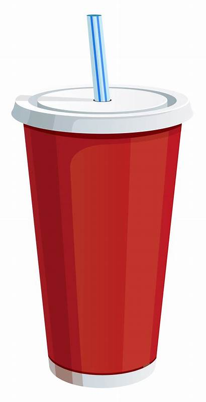 Drink Cup Clipart Clip Plastic Soda Drinks