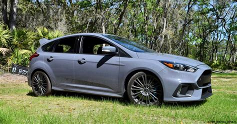 2017 Ford Focus Rs Stealth Grey 45