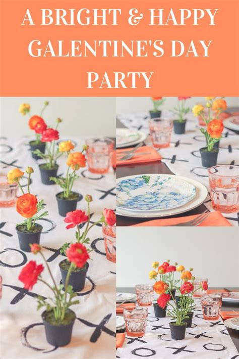Bright and Happy Galentine's Day Party Inspiration | Happy ...