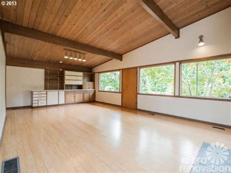 Hardwood Flooring Portland by Midcentury Modern Time Capsule House In Portland Oregon