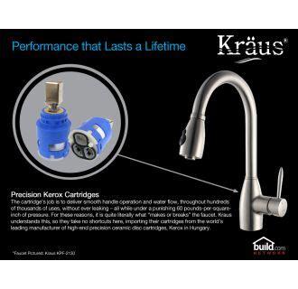 Kraus Khu10030kpf1622ksd30ch Stainless Steel  Chrome