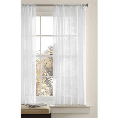 crushed voile curtains tree shop better homes and gardens canopy crushed voile drapery