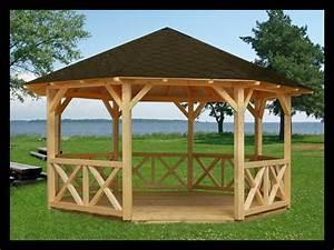Bois Compressé Pas Cher : kiosque en bois pour jardin pas cher archives ~ Dailycaller-alerts.com Idées de Décoration