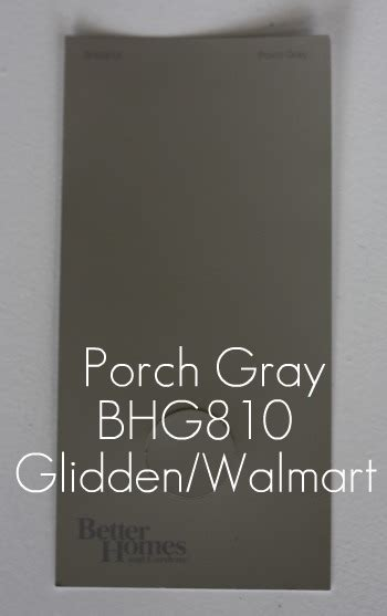 Glidden Porch And Floor Paint Steel Grey by House Tweaking