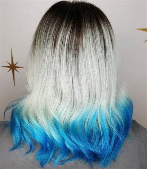 fairy  blue ombre hairstyles