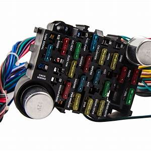 21 Circuit Wiring Harness For Chevy Mopar Ford Jeep