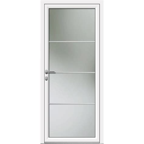 la haute de cuisine porte d 39 entrée aluminium laly artens poussant droit h 215