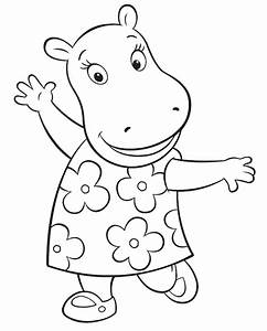 Backyardigans Coloring Pages 360ColoringPages