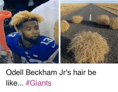 Odell Beckham Jr Memes - odell beckham jr s hair be like giants odell beckham jr s hair be like giants be like meme on