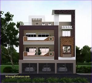 3 Floor House Elevation Designs Andhra
