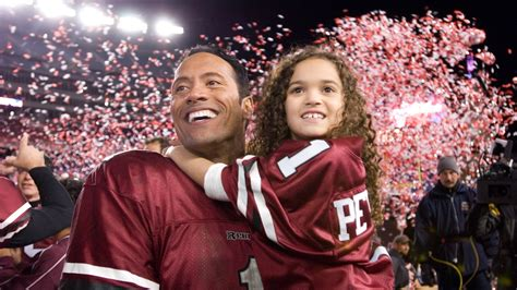 Dwayne Johnson In The Game Plan Hot Dads Celebrate