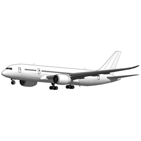 Boeing 787 3D Model   FormFonts 3D Models & Textures