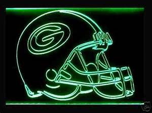 Green Bay Packers Neon Light Packers Neon Sign Neon