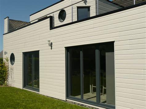 materiaux exterieur de maison loire eco bois terrasse bois orl 233 ans isolation ext 233 rieure bardage et extension bois