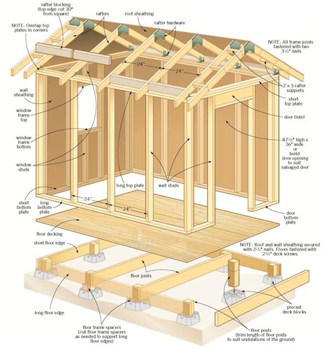 woodwork storage building design plans  plans