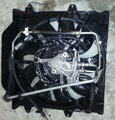 2004 jeep grand cherokee radiator fan 2001 2004 jeep grand cherokee 4 7l hydraulic fan