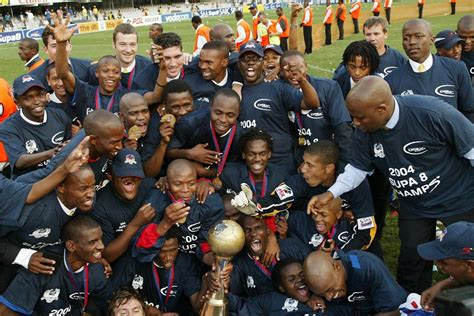 Pitso's first trophy squad in 2004 with SuperSport – where ...