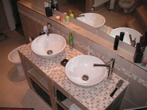 salle de bain avec vasque a poser salle de bain ii photo 2 4 vasques 224 poser avec fermeture clic clac et
