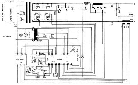 ac dc wiring diagram sip 05006 tig 160 ac dc wiring diagram