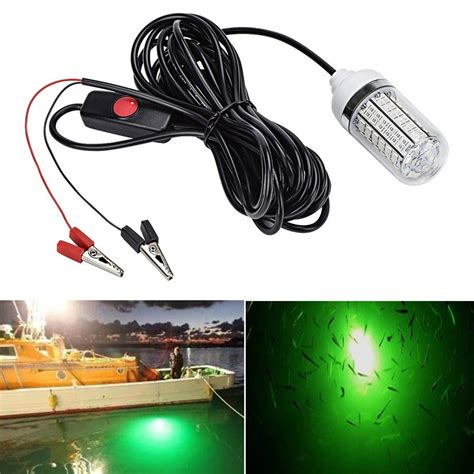 Led Fishing Lights by 12v 15w Fishing Light 108pcs 2835 Led Underwater Fishing