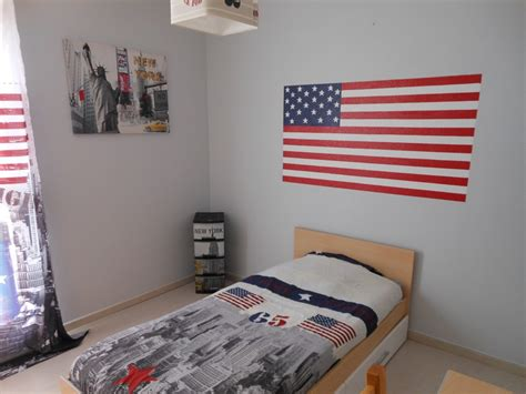 decoration usa pour chambre chambre made in usa photo 1 3 fond du mur gris clair