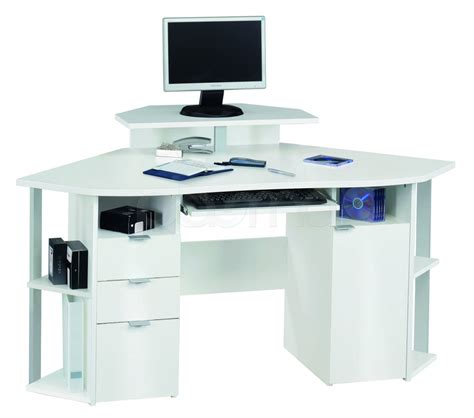 white corner computer desk white office desk the best option for your table actual