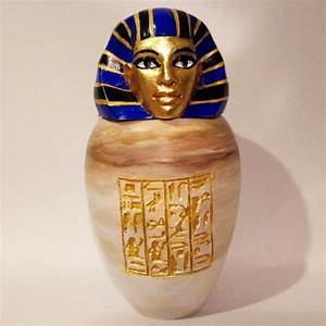 3d Printable Ancient Egyptian Canopic Jar  Imsety By