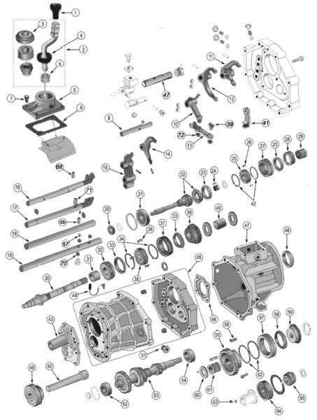 Jeep Exploded Diagram by Aisin Ax15 Transmission Exploded View Diagram Found In