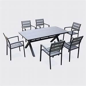 Table Jardin Alinea : stunning table de jardin aluminium alinea gallery awesome interior home satellite ~ Teatrodelosmanantiales.com Idées de Décoration