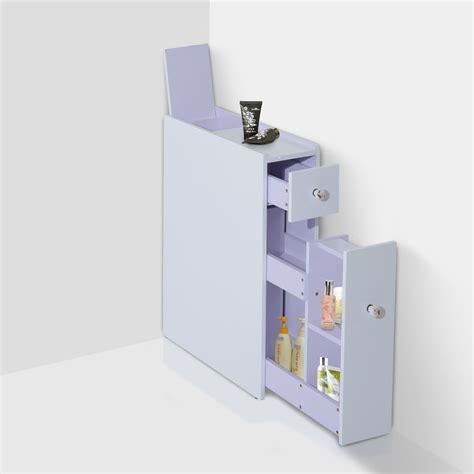 bathroom floor storage cabinet homcom narrow wood floor bathroom storage cabinet
