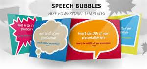 Speech Bubbles Free Template For Powerpoint And Impress