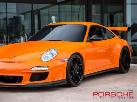 2011 porsche 911 gt3 rs in a paint to sle orange rare