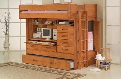 all in one bunk bed