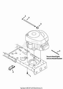 Mtd 13w2775s231  Lt4200   2013  Parts Diagram For Engine Accessories