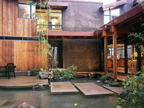 asian style courtyards hgtv