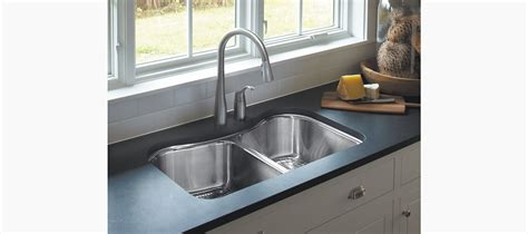 kohler undermount sinks kitchen staccato mount bowl kitchen sink k 3899 6706