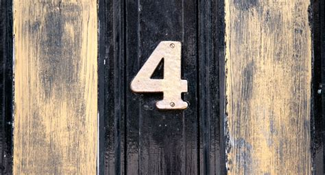 Number 4 In Numerology