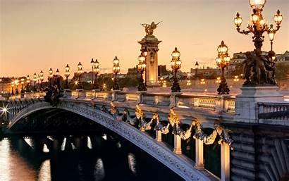 France Paris Bridge Alexander Wallpapers Arched Desktop