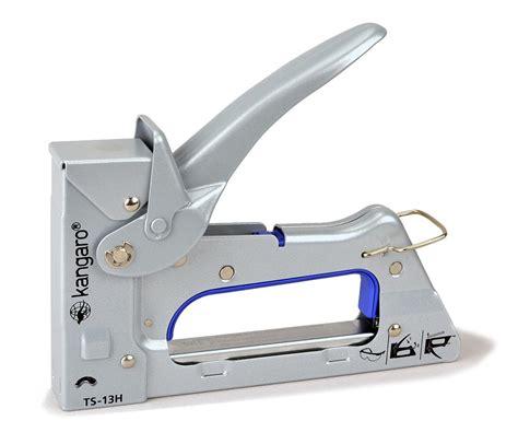 Kangaro TS-13H hand tacker. 23/6-8 fine wire staples, 1/4 ...
