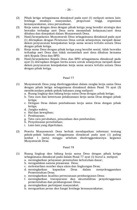 Permendes 2 2015 musdes