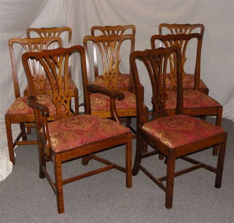 bargain johns antiques set   matching antique oak