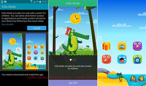 android child mode samsung galaxy s5 how to install configure and use