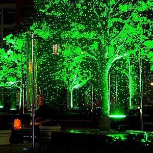 Waterproof outdoor garden landscape lighting rgb laser