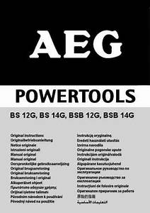 Aeg Bsb 12g Accu Tools Download Manual For Free Now