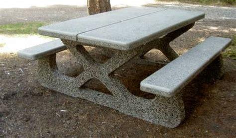 precast concrete picnic tables park picnic table dominion precast