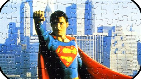 superman puzzle christopher reeve jigsaw puzzles