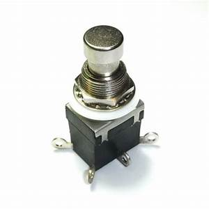 2pdt Dpdt Latching Stomp Foot    Pedal Push Button Switch