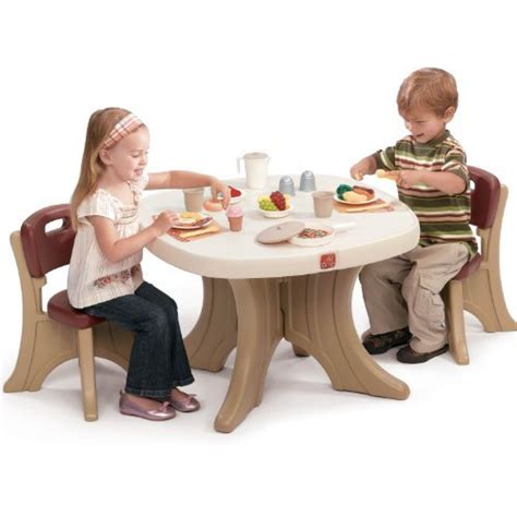 modern step2 table and chairs set offers great size